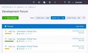 [ETS] Threadlist Filter Prefix