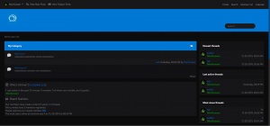 Dark Responsive Theme for MyBB 1.8