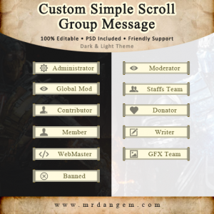Custom Scroll Ranks Group Images