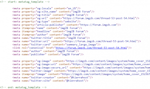 Facebook, Google, Twitter, SEO Metatags