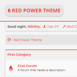 Red Power Theme