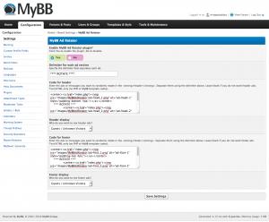 MyBB Ad Rotator