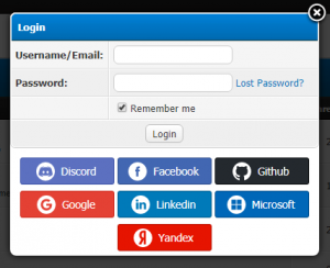 Isango - MyBB Simple Social Login