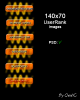 Oranger 140x70