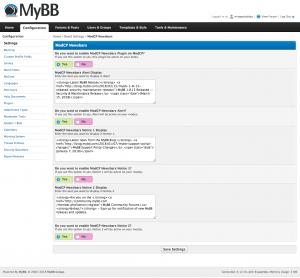 ModCP Newsbars