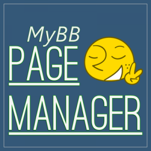 MyBB-PageManager