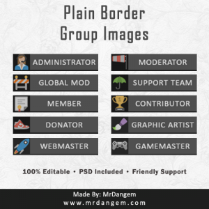 Plain Border Group Images